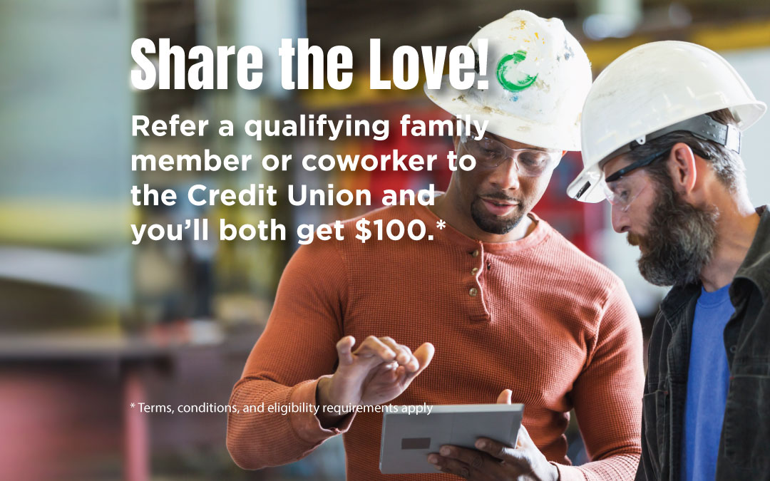 Share the Love -Member Referral Campaign